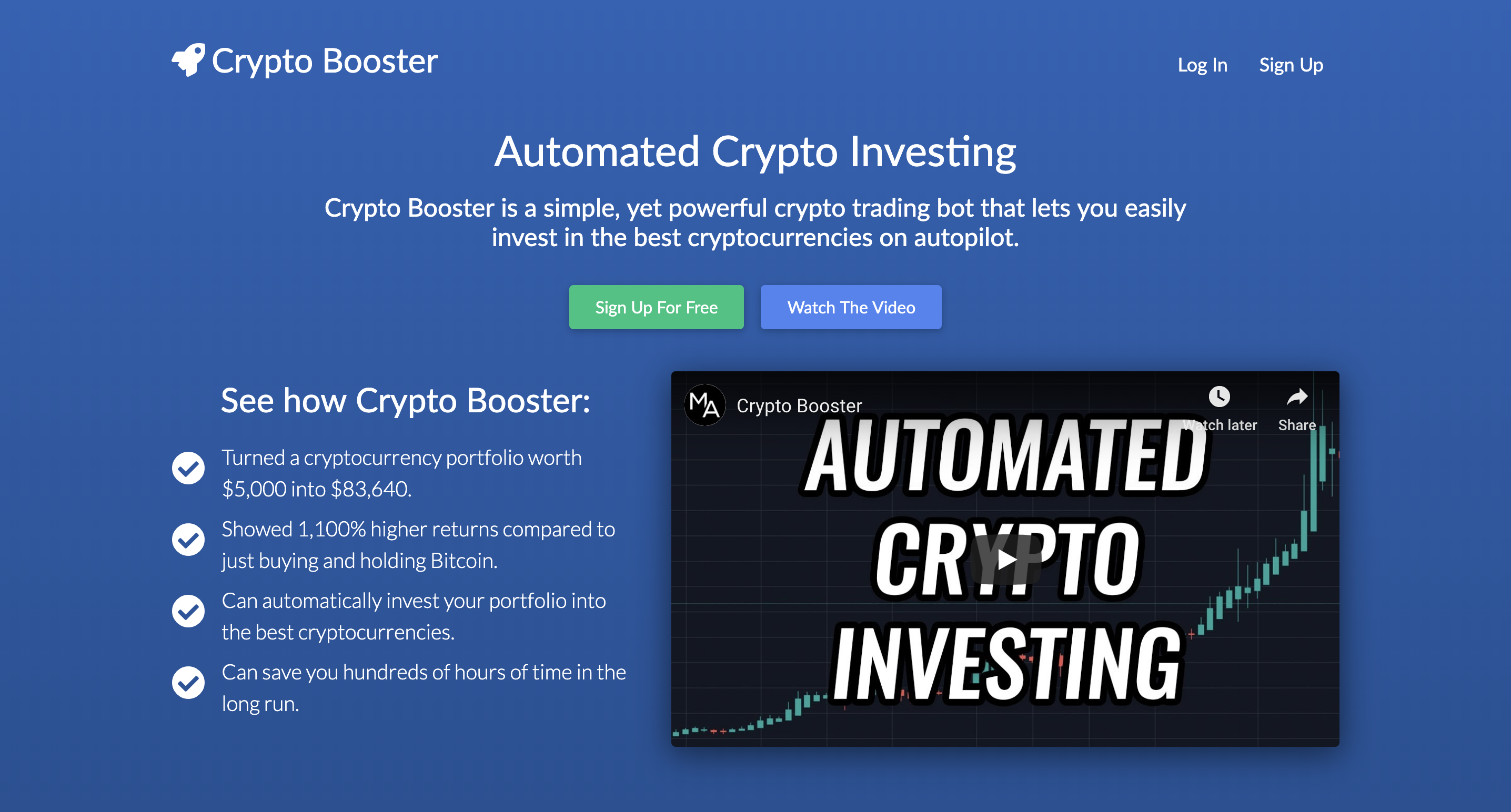 Crypto Booster